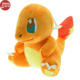 $enCountryForm.capitalKeyWord Australia - New Charmander Plush Soft Toy Stuffed Animal Cuddly Figure Plushie Doll 18cm Anime Baby Dolls Brinquedos Juguetes