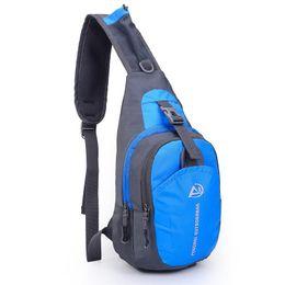 Sling Mochila resistente al agua al aire libre hombro pecho paquete desequilibrio Crossbody bolsa para mujeres hombres niñas niños bolsos Travel Daypack