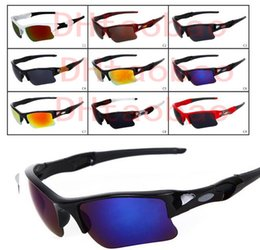 Bicycle Sales NZ - HOT SALE brand new fashion men's Bicycle Glass sun glasses Sports goggles driving sunglasses cycling 9colors good quality A+++ free shipping