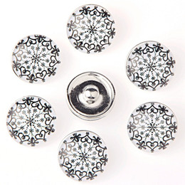 Glasses Trade Australia - 18 mm button Foreign trade The explosion Personality Fashion ginger snap buttons Button Bracelet Factory Direct selling KA 0112 making jewel