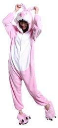 $enCountryForm.capitalKeyWord NZ - Unisex Adult Pajamas Onesie Kigurumi Cosplay Costumes Animal Jumpsuit Rabbit