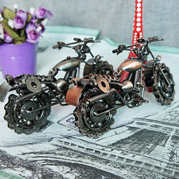 iron metal model motorcycles 2018 - Quality home decoration, metal iron art large iron car models creative gifts