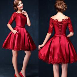 Vestidos de color rojo para graduacion