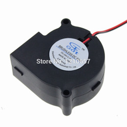 Discount dc centrifugal blower - Wholesale- 1PCS DC 24V 2Pin For 6028 60mm 60x28mm 6028s Exhaust Cooler Cooling Centrifugal Blower Fan