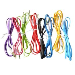 stereo jack plug wiring online shopping - dhl free colorful flat noodle mm  aux audio auxiliary