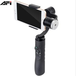 China import china goods AFI V3 handheld 3-axis gimbal grip smartphone phone stabilizer for iphone samsung huawei gopro action camera supplier phone stabilizer suppliers