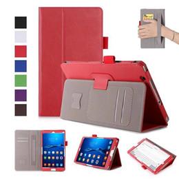 $enCountryForm.capitalKeyWord Canada - DOLMOBILE Flip PU Leather Cover Case for Huawei MediaPad M3 8.4 inch BTV-W09 BTV-DL09 Tablet Hand Holder Grip Shell w  Card Slot 30pcs