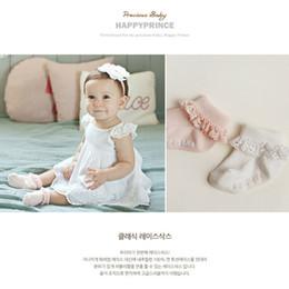 Korea girl legs online shopping - Fashion Korea Style children sock baby girls cotton lace socks Hollow Socks kids antiskid socks leg children Stockings
