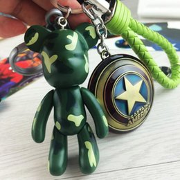 $enCountryForm.capitalKeyWord Canada - Hot Sale The Avengers Marvel Cartoon Violence Bear Key Chains Super Hero Iron Man Mask Superman Metal Keychain Pendant