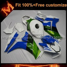 Motorcycle Body Kit Canada - 23colors+8Gifts Injection mold Light blue Body Kit motorcycle cowl for HONDA CBR1000RR 2012-2013 CBR1000RR 12 13 ABS Plastic Fairing