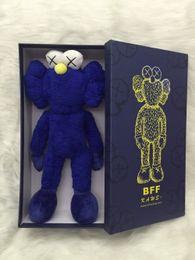 "Sesame Toys Canada - 16"" 40cm 2016 Kaws Thailand Bangkok Exhibition Sesame Street Kaws BFF Plush Doll Toy Collections with retail box"