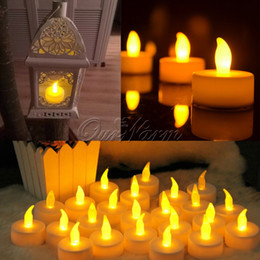 Glow Party Decorations Australia - 12Pcs  Lot Led Candle Light Flameless Candle Lights For Wedding Decoration Glow Party Supplies Home Decor