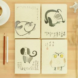 online shopping Creative Simple Cute Kawaii Animal Sketch Notebook With Blank Paper For Painting Drawing Kids Gift Office School Supplies