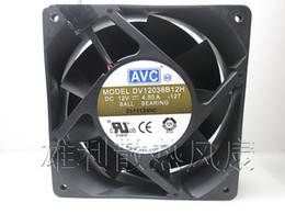 $enCountryForm.capitalKeyWord NZ - Original AVC DV12038B12H DC12V 4.5A 120*120*38MM 12 cm 3 lines super violence booster cooling fan