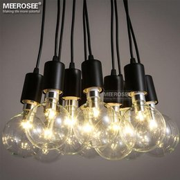 modern decoration chandelier lighting fixture american style metal plastic suspension lamp fancy hanging light vintage lustres - Discount Chandeliers