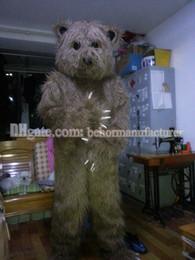 Cute Brown Bear Canada - Bear clothing Free shipping, selling cute high quality plush brown bear mascot true adult type mascot discount.