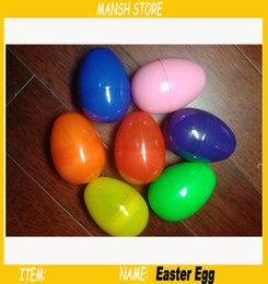 Plastic easter eggs free shipping online plastic easter eggs colorful plastic easter eggs5580mm suprise eggs capsule for party dough candy gumball gifts free shipping 100pcs lot negle Choice Image