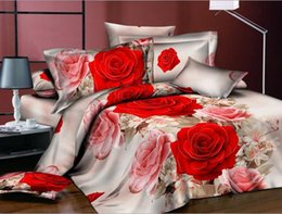 $enCountryForm.capitalKeyWord NZ - top quality 4 pcs cotton Designers 3d Reactive printing bedding sets comforter duvet covers bed cheet Pillowcase bedclothes bed Linen