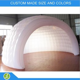 $enCountryForm.capitalKeyWord Australia - portable outdoor inflatable dome tent LED inflatable party dome tent