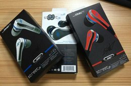 SmS Street earbudS online shopping - 3Colors Cent SMS audio mini cent in earphone headphone Earbuds with Microphone STREET by CENT with retail pack