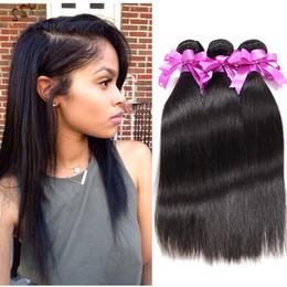Discount peruvian virgin hair queens product - Wholesale Peruvian Virgin Hair Straight 7A Unprocessed Peruvian Straight Virgin Hair 4 Pcs Cheap Human Hair Extension Qu