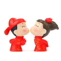 $enCountryForm.capitalKeyWord NZ - Bride and Groom Wedding Doll PVC Action Figures Toy Fairy Garden Miniatures gnomes Craft for Gift Home Decoration Handmade Accessories
