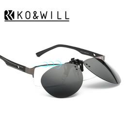 b2081b76d5 Pilot cliP sunglasses online shopping - 2016 New Cool Lenses Clip On  Sunglasses Men Flip Up