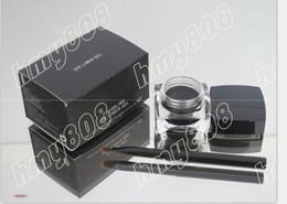 Gel Eyes Liner Canada - free shipping HOT new FLUIDLINE EYE LINER GEL Black 5.5g(20 pcs  lot)