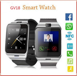 smart watch gsm sim Australia - GEAR2 GV18 NFC Aplus Smart Watch With touch Screen Camera Bluetooth NFC SIM GSM Phone Call U8 data sync Waterproof for Android Phone
