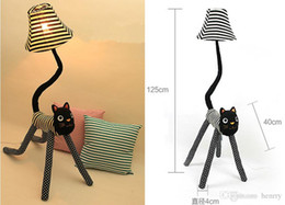 E27 Cap Cloth Clown Cat Floor Lamp, Creative Cute Child Standing Lamp, Living  Room Bedroom Bedside Lamp, Reading Lamp Nightlights Part 88