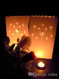 $enCountryForm.capitalKeyWord NZ - Night Stars White Candle Paper Bag Lantern Garden Pool Outdoor Party Luminara Good Quality Brand New Free Shipping