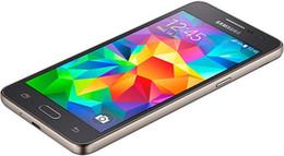 samsung grand prime black 2019 - 100% Original Samsung Galaxy Grand Prime G530 G530H Ouad Core Dual Sim Unlocked Cell Phone 5.0 Inch TouchScreen phone DH