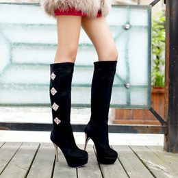 Discount Boots Thin Legs   2017 Boots Thin Legs on Sale at DHgate.com