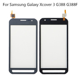 $enCountryForm.capitalKeyWord Australia - Gray Front Outer Touch Screen Digitizer Glass Lens For Samsung Galaxy Xcover 3 G388 G388F Replacement Parts