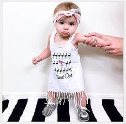 $enCountryForm.capitalKeyWord Canada - Retail 2016 Baby Girl Tassels Dress Children Cartoon Animals Sleeveless Long T-shirt Dresses Kids Vest Dress Girls Summer Clothing 80-120cm