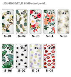S6 pattern caSe online shopping - For Apple iphone plus S Flower Back Cover Soft ultra thin Plating TPU clear patterns cases for samsung S7 S8 edge S6