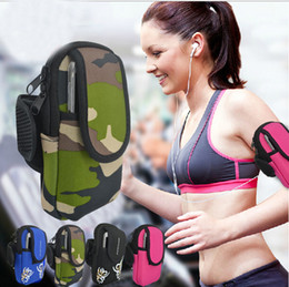 Basketball Fitness Equipment Canada - Hot Sale Fashion Hpopular low-cost running mobile arm wrist package bags outdoor sports fitness equipment sport bags