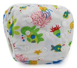 $enCountryForm.capitalKeyWord Canada - Baby washable reusable diapers for swimming waterproof diapers for swimming baby leakproof swimsuit diapers pool