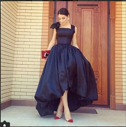 2017 Retro Evening Dresses Online Sexy Wide Spaghetti With Bowtie Tube Top High Quality Taffeta Evening Formal Prom Dresses Vestidos