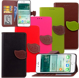"$enCountryForm.capitalKeyWord Canada - PU Leather Wallet leaf Style Flip Book Cellphone Cover Case with Credit Card Holder for iPhone 7 Plus 5.5""inch"