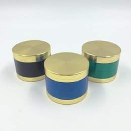 $enCountryForm.capitalKeyWord NZ - 4 parts Gold Lid Top Fashion Metal Grinder 50mm 4 parts Zinc Alloy Herb Herbal Tobacco Spice Pollen Grinder .ES-GD-087