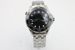 Großhandel Hot Sale Uhren Männer Keramik drehbare Lünette Glas zurück automatisch Professionelle Wach Co-Axial Planet Ozean Männer tauchen Armbanduhr Uhren