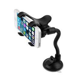 Discount newest tablets - 1pc Windshield 360 Degree Rotating Car Sucker Mount Bracket Holder Stand Universal for Phone GPS Tablet PC Accessories N