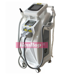 online shopping Hot selling product SHR OPT Nd Yag laser tattoo remover RF skin care IPL SHR E light permanent hair removal equipment