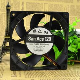 12 Cm Fan NZ - SANYO 0.16A 12CM 120*120*25 48V 12 cm 9G1248ME403 4 wire inverter fan