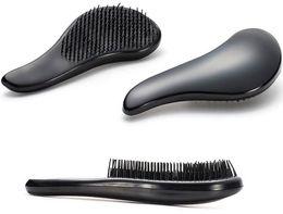 Wholesale Detangling Brush Canada - DHL Free Hair Combs Magic Detangling Handle Tangle Shower Salon Hair Styling Tamer Tools Hair Brush Comb High Quality 18 * 3cm 12 Colors