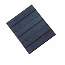 China 3.5 W 18V Polycrystalline Solar Cell Module Solar Panel For Charging 12V Battery DIY Solar Charger System 165*135*3MM 5PCS Lot supplier 18v solar panels suppliers