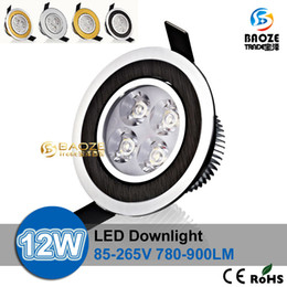 Lámpara de techo Led de DHL 9W 12W Bombilla Led 85-265V Foco reflector LED para iluminación interior Foco reflector con conductor led on Sale