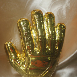 27146ba05 Soccer Trophy Cup Canada - Soccer Football Resin GOALKEEPER Golden Glove  Award World Cup Trophy Golden