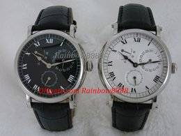 Chinese  Famous brand power reserve display automatic mechanical watches for male white black blue brown 4 color can choose TP2 manufacturers